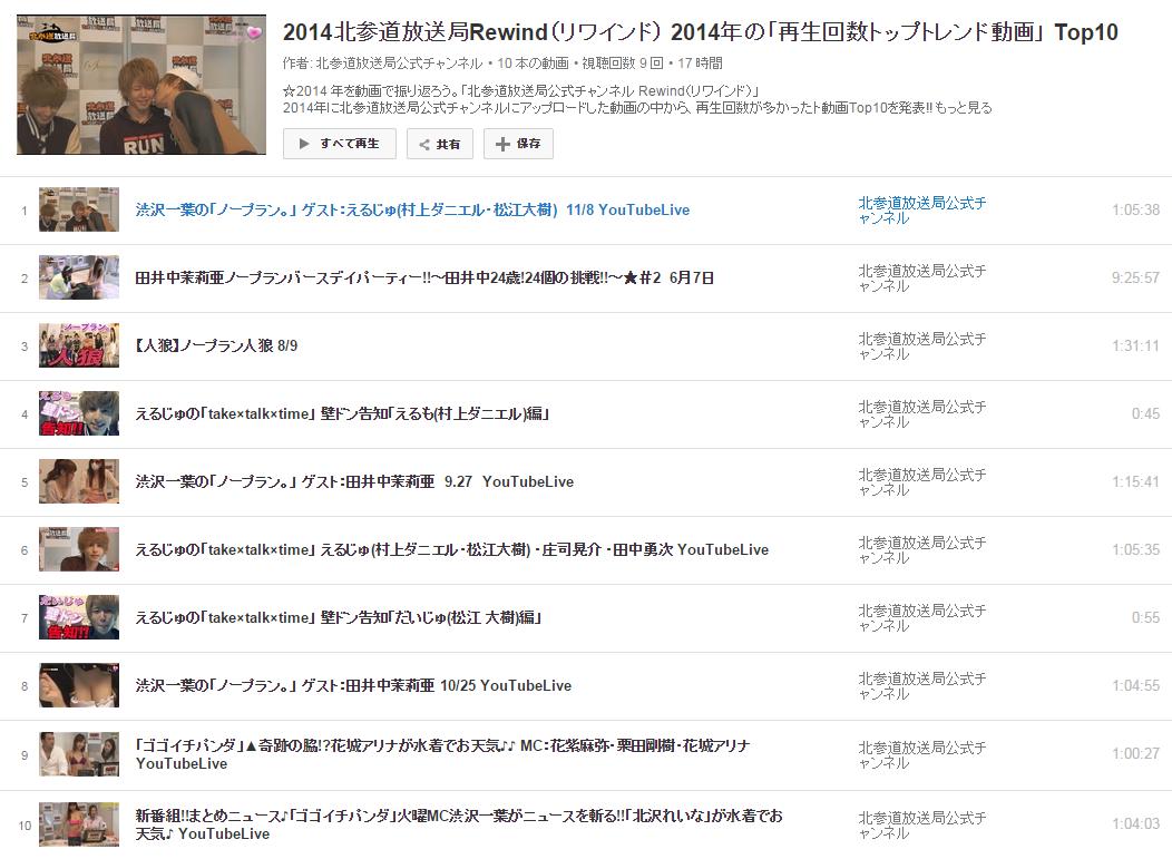 北参道放送局Rewind2014